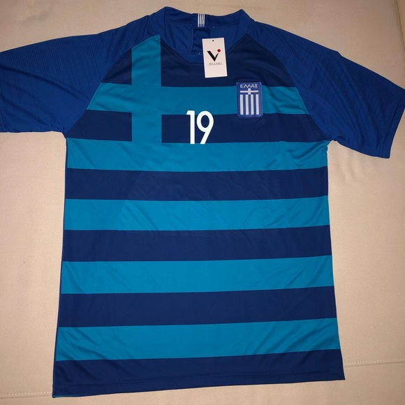 promo code 42ef5 a314d Greece National Team • Sokratis Jersey NWT